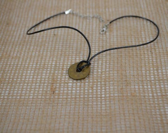 Japanese 5 Yen Lucky Coin Necklace