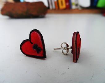 Love Love Stud Earrings