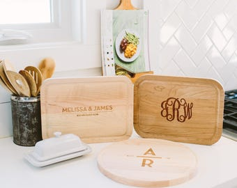 Personalized Wood Cutting Board -  Choose your design