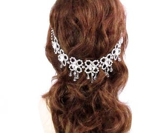 SALE SALE Crystal Hair Jewelry, Bridal Hair Accessory, Wedding Hair Accessory, Bridal Crystal Headpiece,