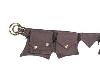Bum Bag, Hipbag, Canvas Belt, Goa, Pocket Belt, Belt Pouch, Waist Bag, Waist Pouch, Waist Purse, Waist Pack, Vegan Bag, Fanny Bag, Belt Bag