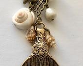 APC098-01 Mermaid Tail Planner Charm, TN charm and Bag Charm
