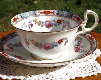 AYNSLEY Bone China Teacup and Saucer Set 1905-25