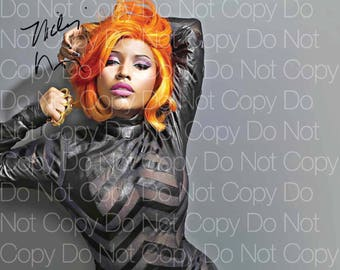 Nicki Minaj signed 8X10 photo picture poster autograph RP