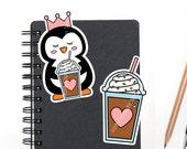 Planner Die Cuts Printable, Penguin Die Cuts, Coffee Die Cuts, Princess Die Cuts, Scrapbook Die Cuts, Planner Accessories