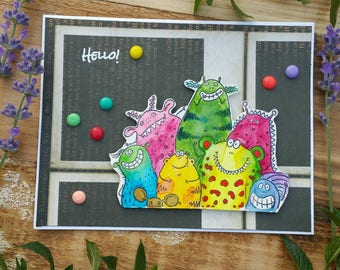 Just Because/Hello Card