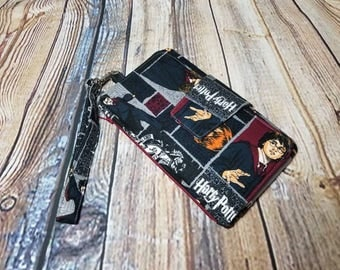 Harry Potter Inspired Hogwarts Ron Hermione Pearl Wallet