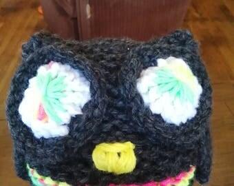 owl beanie/hat