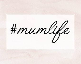 mumlife car stickers