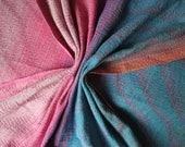 Handwoven wrap woven wrap baby carrier Sanibel morning