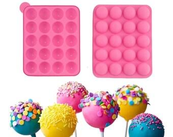 20 Hole - set of 2 Lollipop Baking Mould