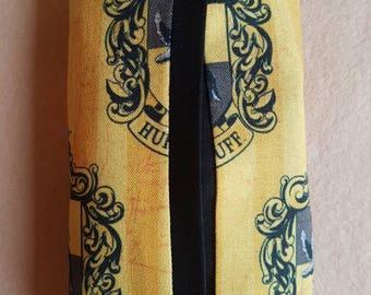 Harry Potter Hufflepuff inspired travel tissue holder