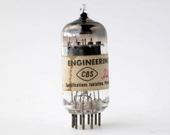 A small piece of vacuum tube history - CBS 7247 engineering sample - pre-production tube