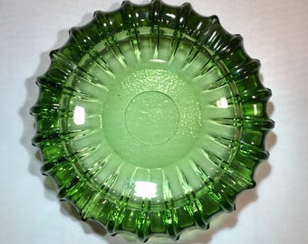 Ashtray Vintage Blenko Botella