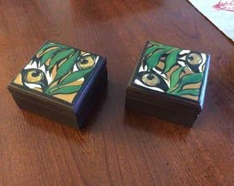 Wood Tiger Boxes