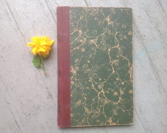 19th Century Cookbook, Rare, Lessons in Domestic Science Care and Feeding, Infants, Invalids, How to Cook, How to Clean, Icebox Laundry Tips