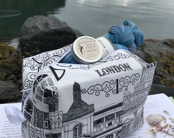 """Peter Pan and Wendy Yarn Kit - """"If you believe...clap your hands..."""" (200 London)"""