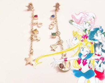 Sailor Moon Sailor Senshi Earrings