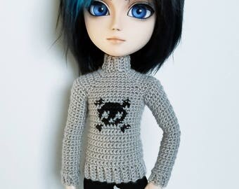 Skull sweater for Taeyang dolls