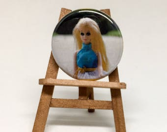 Topper Dawn Doll - Classic Doll Toy Pinback Button Badge 1.25 inch Flair Magnet
