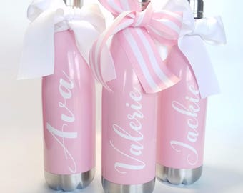 Like a Yeti Water Bottle| Like A Swell Water Bottle| Monogrammed Water Bottle| Bridesmaid Gift| Water Bottle| Personalized Birthday Gift|