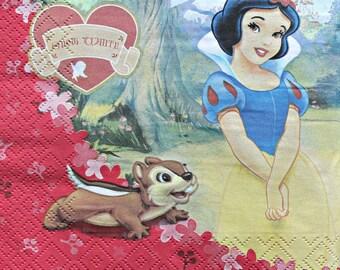 Snow White towel
