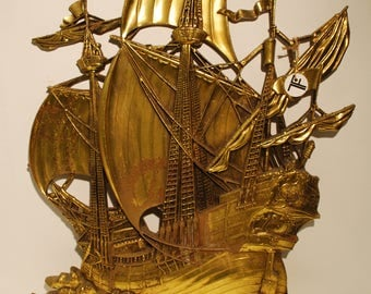 Mid Century Pirate Ship 1958 copyrighted