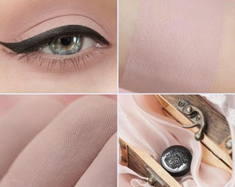 Eyeshadow: Cutie - Light Castle. Delicate nude matte eyeshadow by SIGIL inspired.