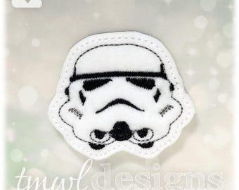 "Trooper Tsum Feltie Digital Design File - 1.75"""