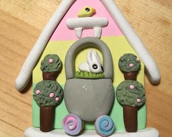 Easter miniature decoration