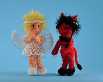 angel and devil crochet pattern