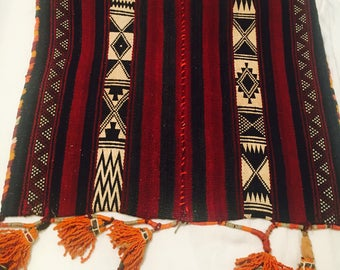 Vintage moroccan huge pillow case