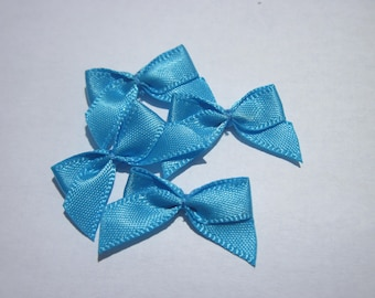 4 nodes in satin 20 to 21 mm approx - stitched fabric - (A288)
