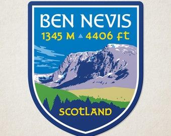 Ben Nevis Decal Sticker