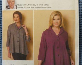 Butterick B6261 by Connie Crawford Jacket. Size x-sm to xlg.  UNCUT