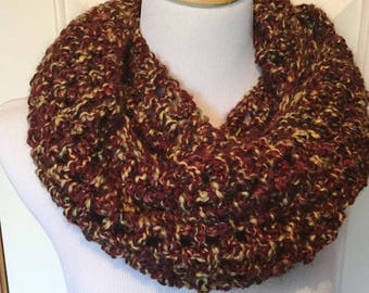 Crocheted Scarf | Chunky Scarf | Infinity Scarf