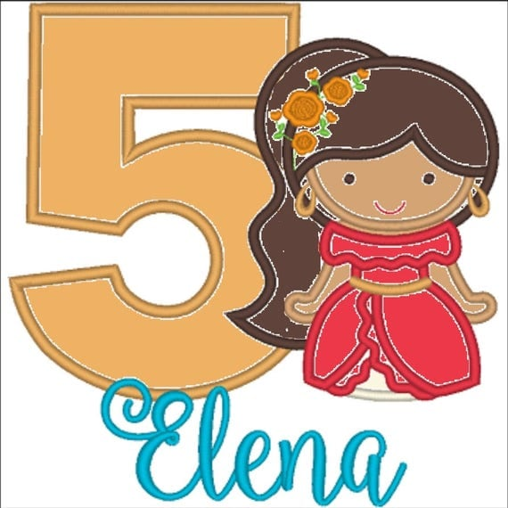 SAMPLE SALE, Princess Elena Cutie Shirt - Elena of Avalor -Disney Princess Birthday -1st Disney Trip-Amulet of Avalor -Elena Birthday Shirt
