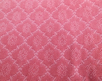 Vintage Pink Upholstery Fabric
