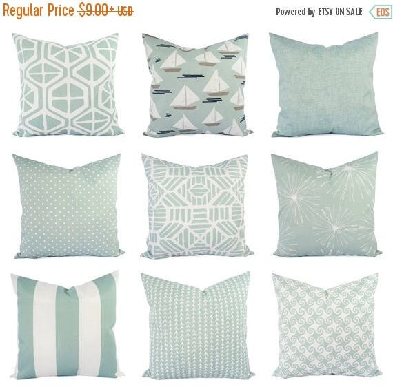 soft decorative pillows. Like this item  15 OFF SALE Light Blue Pillow Cover Outdoor Throw