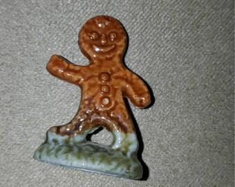 Vintage Wade / Red Rose Tea / Gingerbread / Ginger Bread Man Figurine