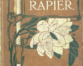 """Antiquarian Book, """"Hammer and Rapier"""", by John Esten Cooke"""