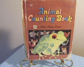 Learn to Count!  Animal Counting Book, a Little Golden Book; 1960