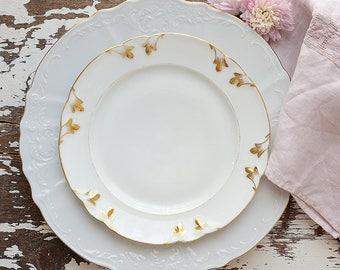 Vieux Paris/Old Paris Dessert Plates