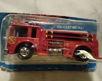 Mattel In. 1982 die cast metal Firetruck. Fire eater #9640.