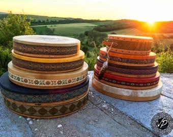 18' -20' custom made shaman drum, frame drum