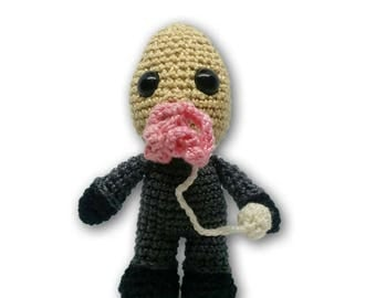 Ood Mixed-Media Amigurumi Pattern