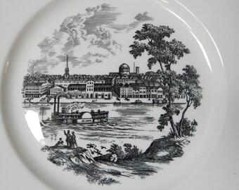 St. Louis 1966 Bicentennial Wedgwood Souvenir Plate