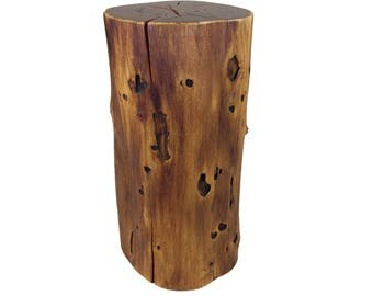 Stump Side Table Black Locust - #3