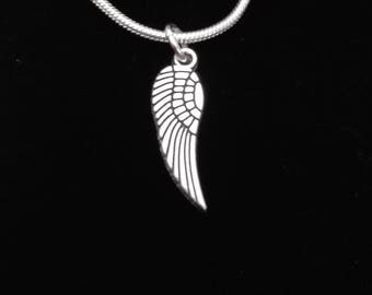 Angel wings necklace, pendant