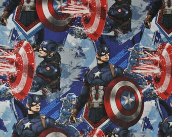 Captain America Fabric